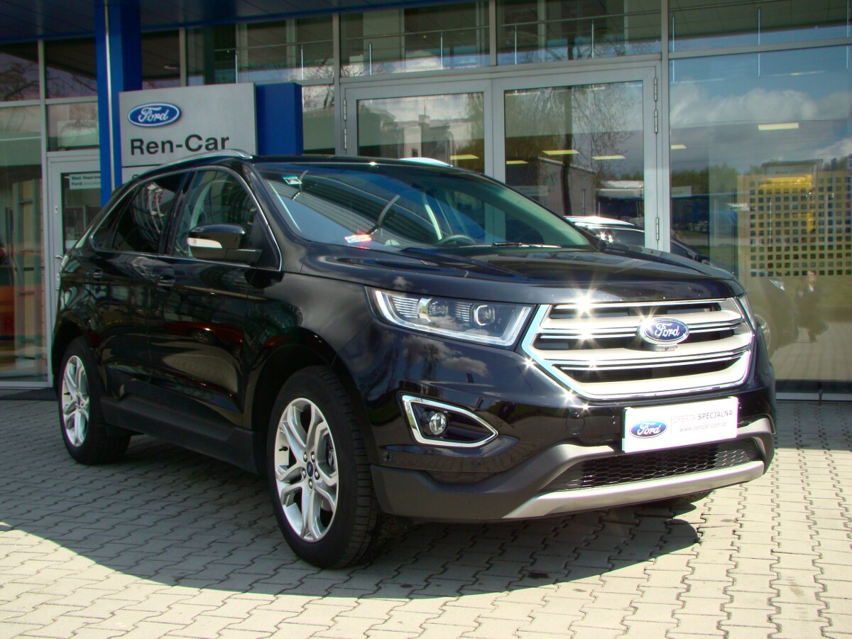 nowy ford edge titanium 2 0tdci 210km powershift 4 4 ren car sp z o o autoryzowany. Black Bedroom Furniture Sets. Home Design Ideas